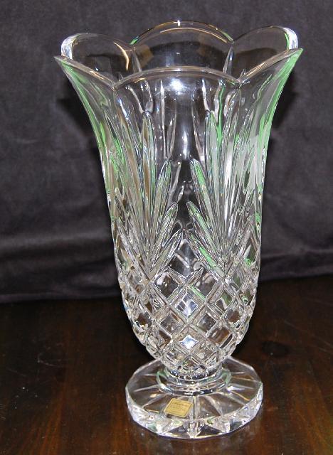 Crystal Vase Noritake German Large Vase 12 Quot Tall 7lbs
